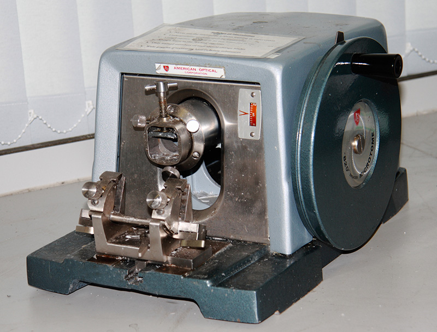 a0 spencer no 820 rotary microtomes