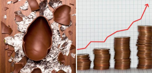 Easter egg prices could soar as the demand for cocoa increases