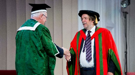 Honorary graduate Professor John Hardy won share of £1 million brain prize