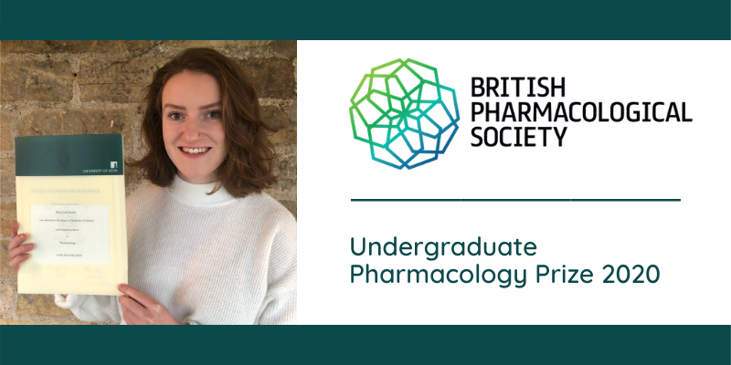 Leeds graduate wins Pharmacology Prize
